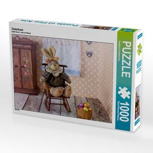 CALVENDO Puzzle Osterhase 1000 Teile Lege-Größe 64 x 48 cm Foto-