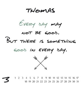 Namenskalender Thomas