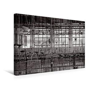 Premium Textil-Leinwand 45 cm x 30 cm quer Kaue