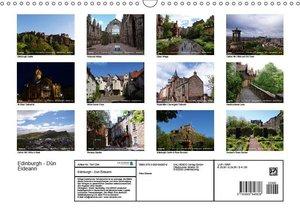 Edinburgh - Dùn Èideann (Wandkalender 2019 DIN A3 quer)