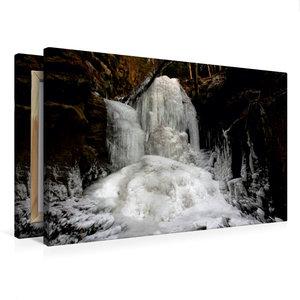 Premium Textil-Leinwand 75 cm x 50 cm quer Beuthenfall