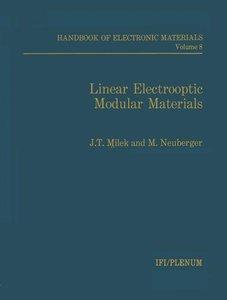 Linear Electrooptic Modular Materials
