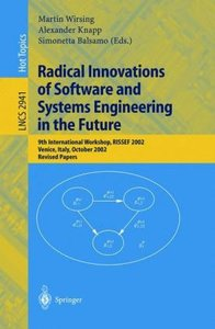 Radical Innovations of Software and Systems Engineering in the F