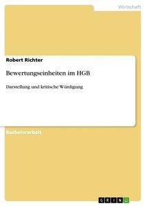 Bewertungseinheiten im HGB
