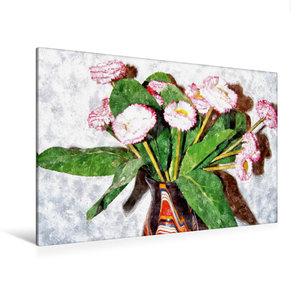 Premium Textil-Leinwand 120 cm x 80 cm quer Wasserfälle der Plit