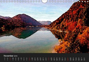 Fernsicht - Impressionen aus den Alpen (Wandkalender 2019 DIN A4