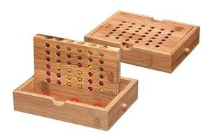 Philos 3254 - Viererreihe, Bambus klein, Strategiespiel