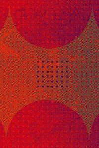Premium Textil-Leinwand 30 cm x 45 cm hoch Punkte und Quadrat, R