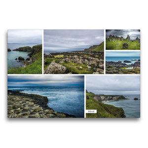 Premium Textil-Leinwand 75 cm x 50 cm quer Irland