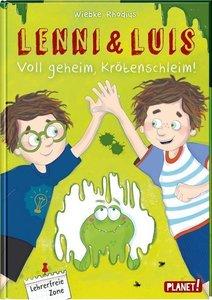 Lenni und Luis - Voll geheim, Krötenschleim!