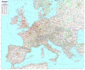 Europa - Planoposter mit Leiste
