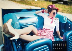 Rockabilly - Back to the 50s (Wandkalender 2020 DIN A2 quer)