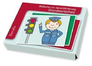Bildkarten zur Sprachförderung: Grundwortschatz: Berufe