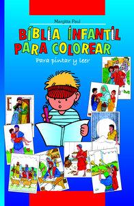 Kinder-Mal-Bibel spanisch