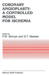 Coronary Angioplasty: A Controlled Model for Ischemia