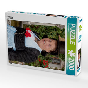 Fasching 2000 Teile Puzzle hoch
