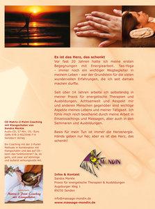 Transformations-Massage nach Sandra Merkle