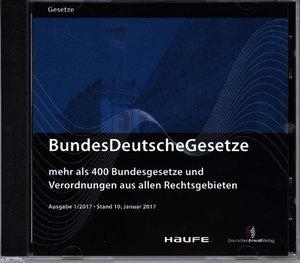 BundesDeutscheGesetze 1/2017 Stand Januar