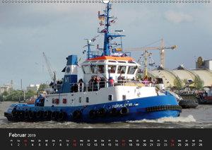 Hamburg Hafengeburtstag (Wandkalender 2019 DIN A2 quer)