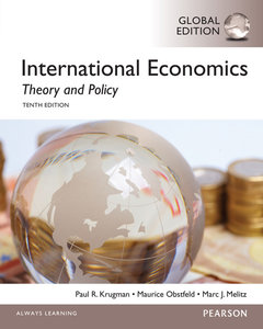 International Economics: Theory and Policy