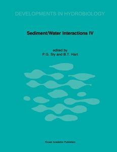 Sediment/Water Interactions