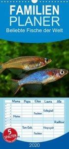 Beliebte Fische der Welt - Familienplaner hoch