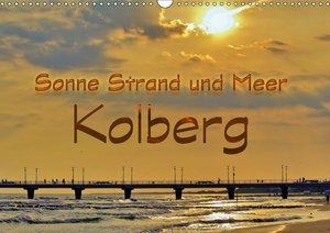 Sonne Strand und Meer in Kolberg