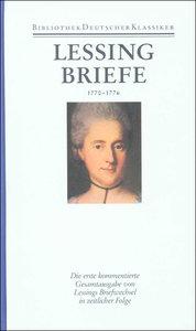 Briefe von und an Lessing 1770 - 1776