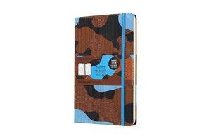 Notizbuch Blend Camouflage Blau
