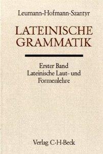 Lateinische Grammatik. Tl.1