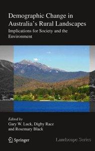Demographic Change in Australia's Rural Landscapes