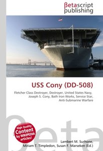 USS Cony (DD-508)