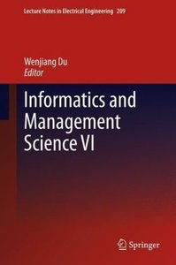 Informatics and Management Science VI