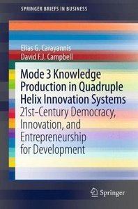 Mode 3 Knowledge Production in Quadruple Helix Innovation System