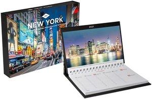 New York Tischkalender 2021