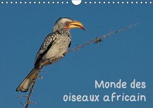 Monde des oiseaux africain (Calendrier mural 2015 DIN A4 horizon