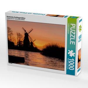 Greetsieler Zwillingsmühlen 1000 Teile Puzzle quer
