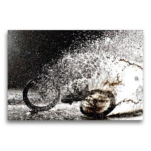 Premium Textil-Leinwand 75 cm x 50 cm quer Andre Klatte Braunsc