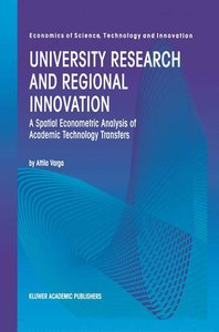 University Research and Regional Innovation