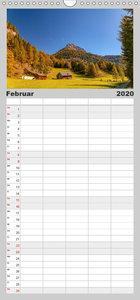 Lungau / Österreich - Familienplaner hoch (Wandkalender 2020 , 2