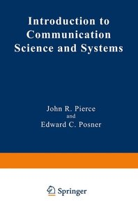 Introduction to Communication Science and Systems
