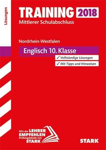 Training Mittlerer Schulabschluss NRW - Englisch Lösungen