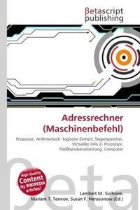 Adressrechner (Maschinenbefehl)