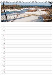 Isarauenzauber - Eine Flussliebe (Tischkalender 2020 DIN A5 hoch