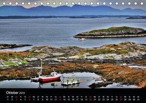 Atemberaubendes Norwegen (Tischkalender 2019 DIN A5 quer)
