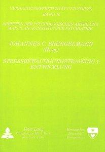 Stressbewältigungstraining 1: Entwicklung