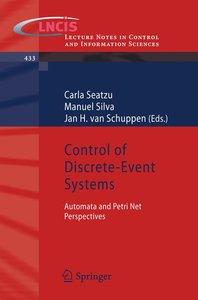 Control of Discrete-Event Systems