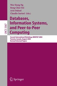 Databases, Information Systems, and Peer-to-Peer Computing