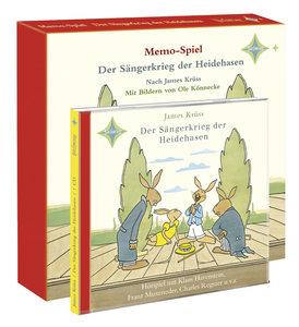 Der Sängerkrieg der Heidehasen - CD und Memospiel