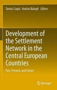 Development of the Settlement Network in the Central European Co